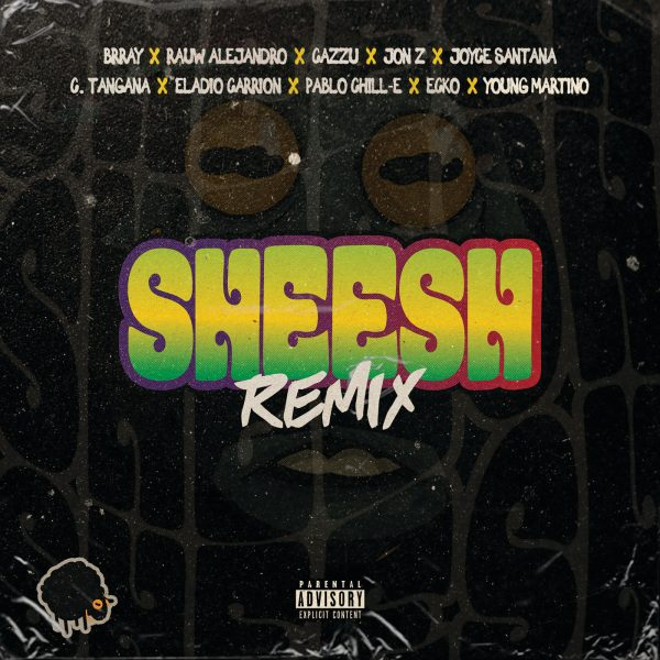 Brray, Jon Z, Cazzu, Rauw Alejandro, Joyce Santana, C. Tangana, Eladio Carrion, Pablo Chill-E, Ecko, Young Martino – Sheesh (Remix)
